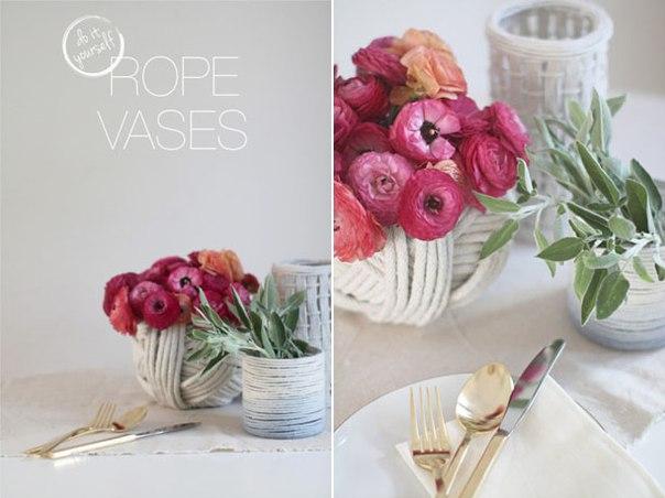 Home Decorating Ideas Make Flower Vase