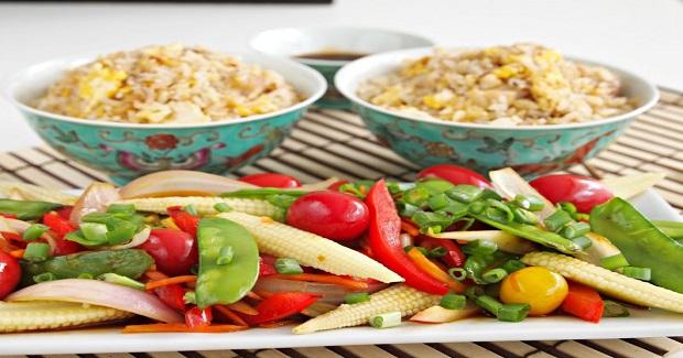 VegetarianTeriyaki Saltado Recipe