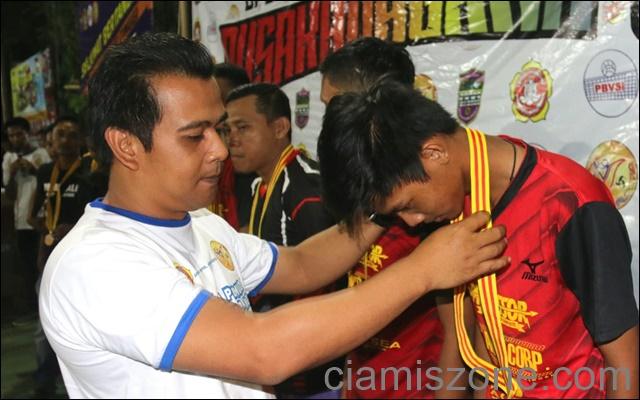 Ditutup Wabup, Tuan Rumah Juarai Putra Pusakanagara Cup III