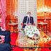 صورة .. الملك محمد السادس يرتدي الكمامة الواقية