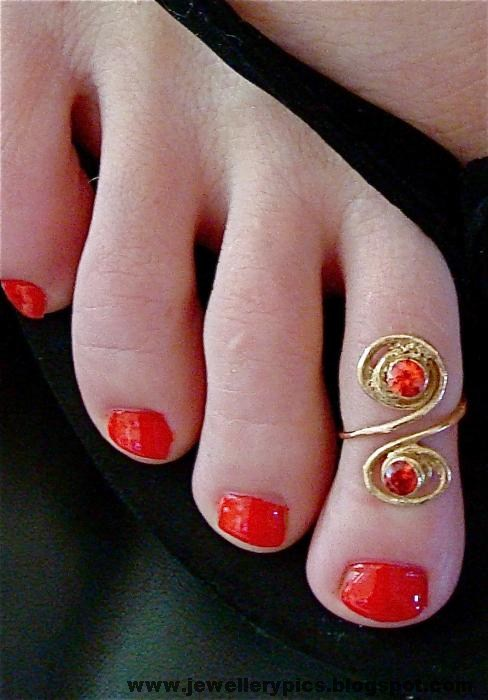 Beautiful Toe Ring Designs Mettelu Latest Jewellery
