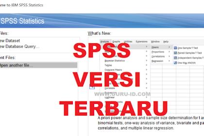 Cara Download dan Install Aplikasi SPSS Versi Terbaru Gratis Sebulan