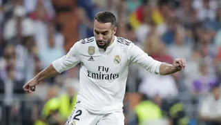 Carvajal set to miss Real Madrid's UCL first leg against Atalanta due to muscle injury