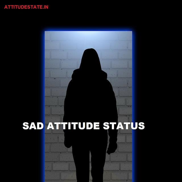 20 - Sad Attitude Status In Hindi   QUOTES DP SHAYARI