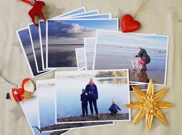 Wundervolle Fotogeschenke zu Weihnachten. Ich zeige Euch, welche persönlichen Postkarten, Fotokalender und Foto-Leinwände wir zum Fest verschenken.