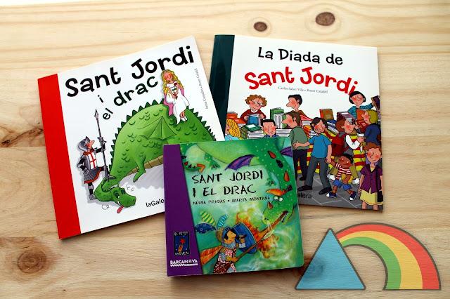 Cuentos sobre la leyenda de Sant Jordi i la Diada de Sant Jordi