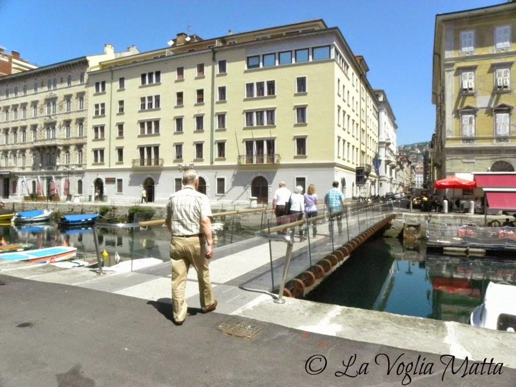 Ponte Curto a Trieste