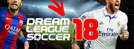 Download of dream league soccer 2018 (DLS 18) APK plus the Mod version