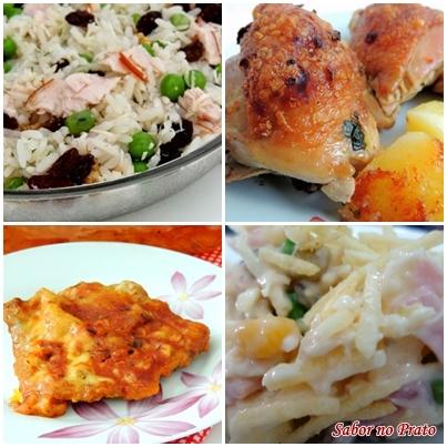 Receitas fáceis e simples para o almoço de dia das mães.