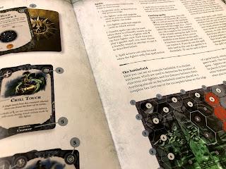 An excerpt from the Warhammer Underworlds: Nightvault rules book