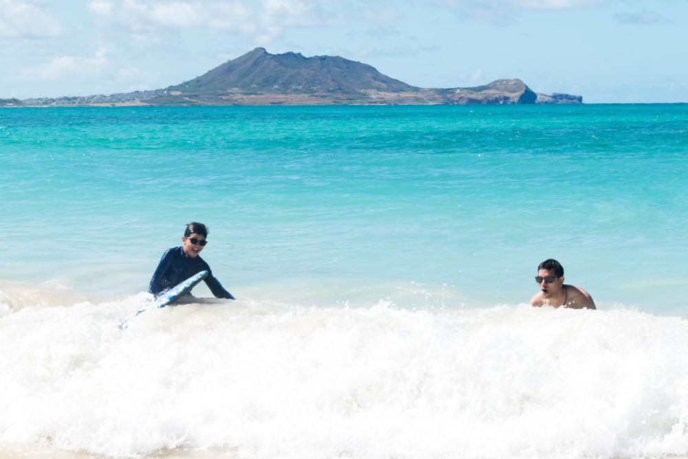 Kailua beach park for kids oahu
