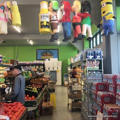 interior of Mi Tierra Foods in Berkeley, California