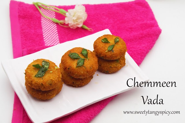 Nadan Chemmeen Vada Recipe | Kerala Style Prawn Cutlets | Kerala's Traditional prawns cutlets