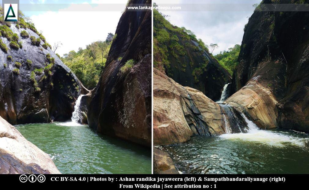 Pahanthudawa Ella Falls
