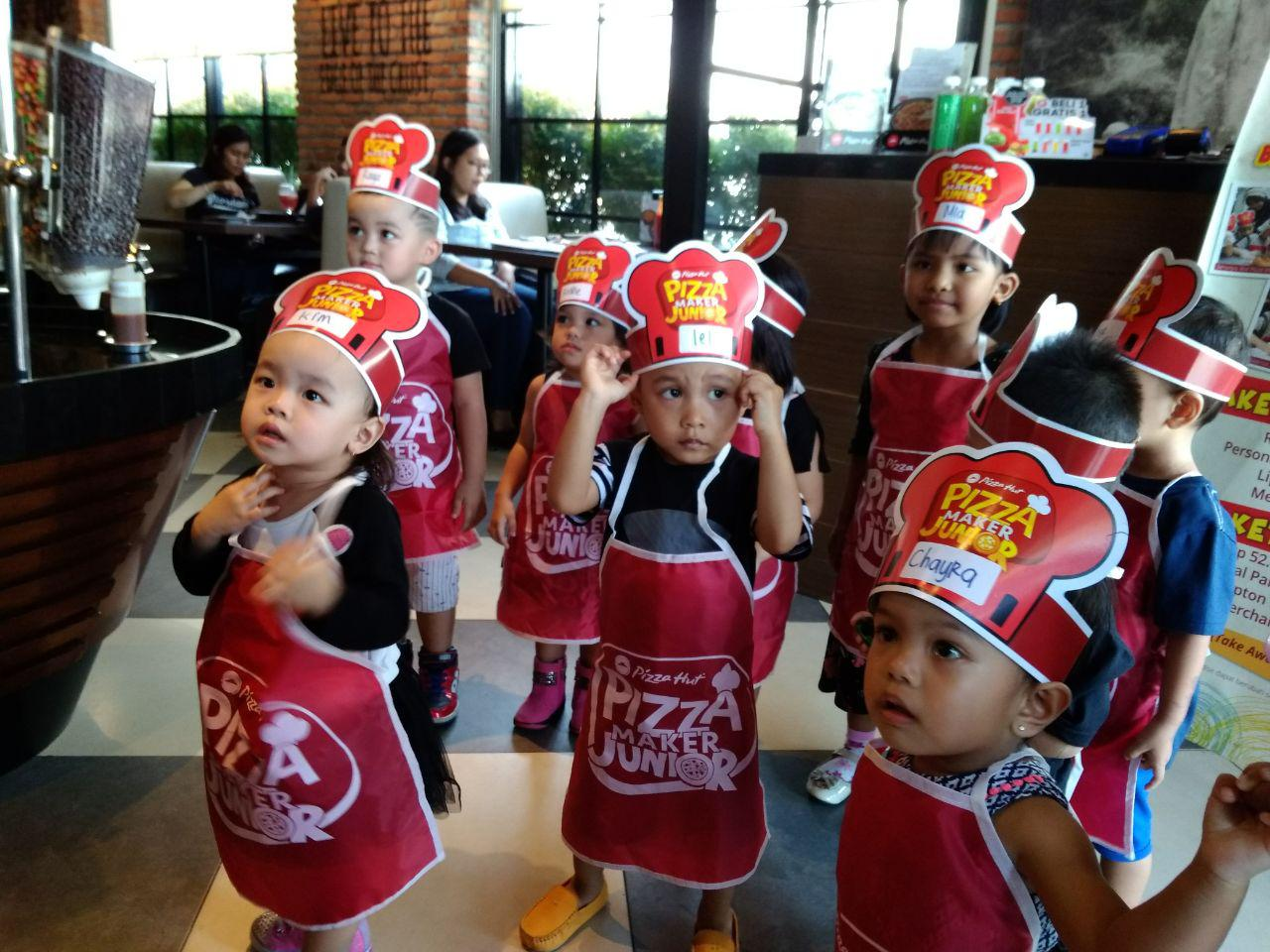 cara ikut pizza maker junior pizza hut