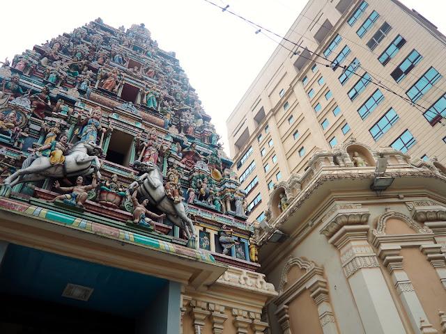 Hindu temple, Kuala Lumpur, Malaysia