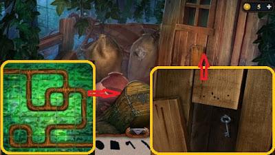 берем ключ от дома после прохождения мини игры в игре затерянные земли 6