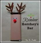 Reindeer Candy Bar