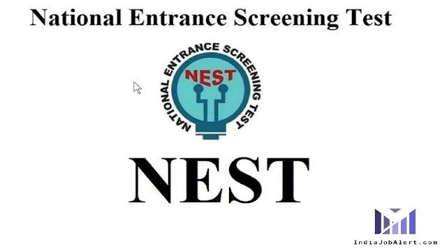 NEST Integrated M.Sc Admission Form 2021