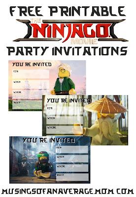 lego ninjago party