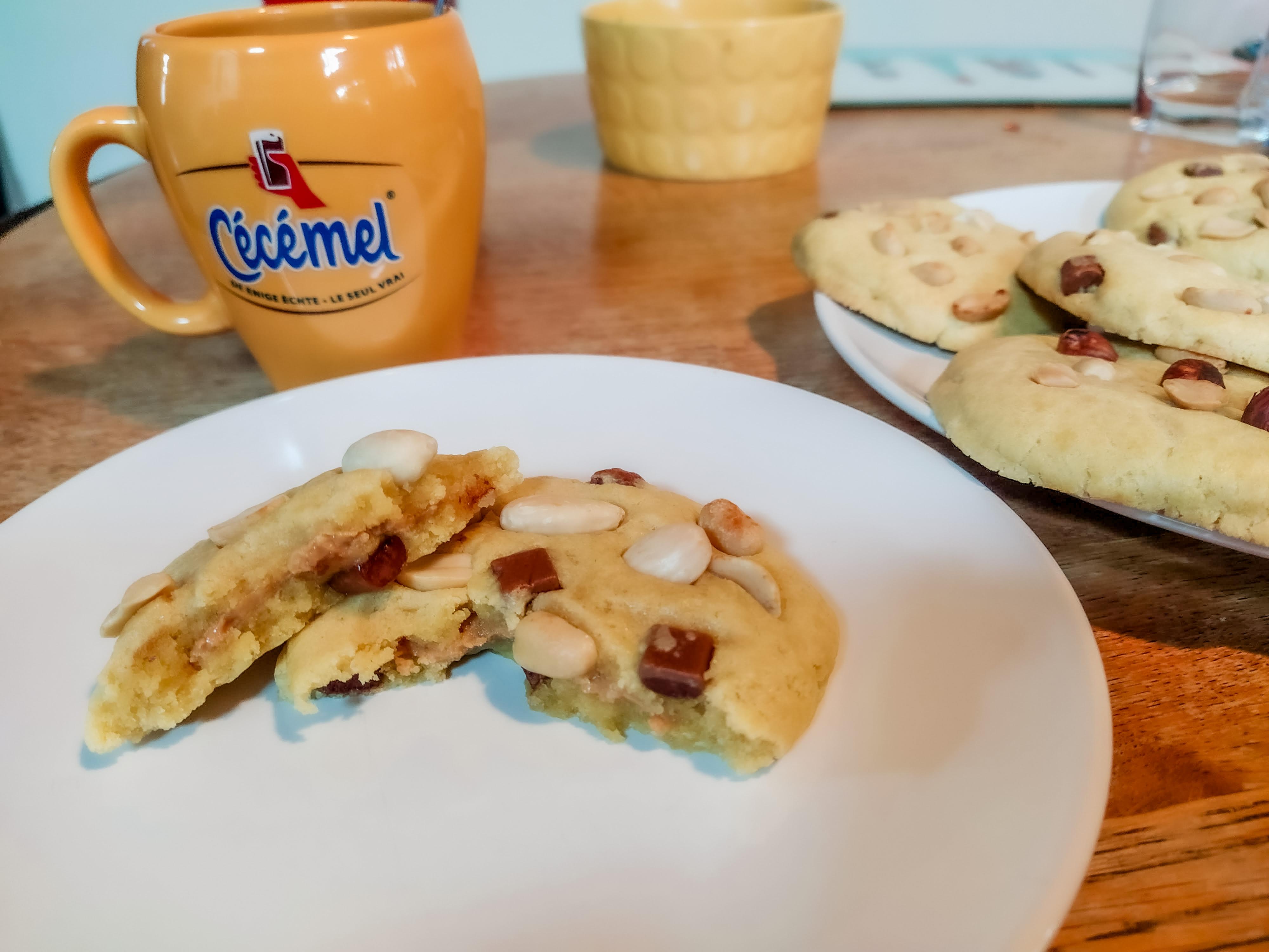 cookies beurre de cacahuète recette
