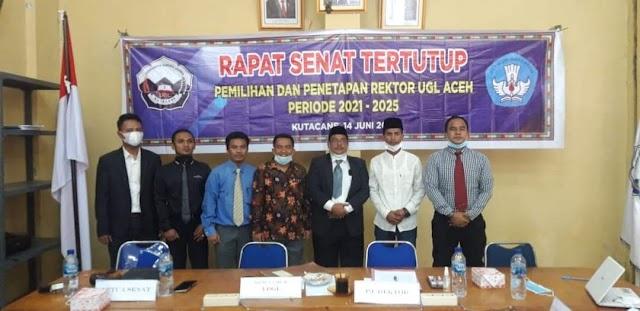 Dr. Indra Utama, S.Pd, M.Pd, Rektor UGL Kutacane Yang Baru