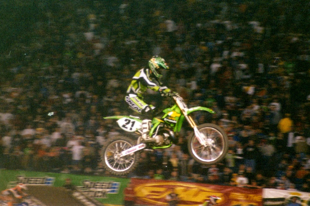 Stephane Roncada Pontiac Supercross 2001