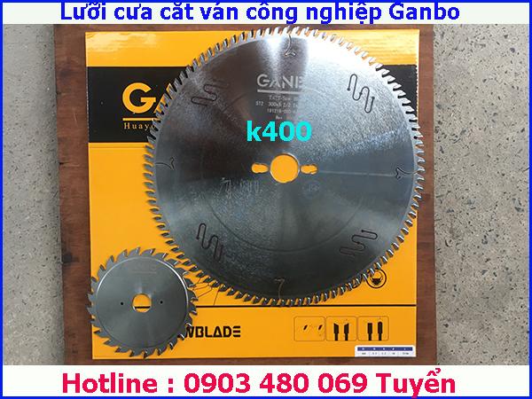 Bộ lưỡi cưa cắt ván công nghiệp GanBo 300x96T