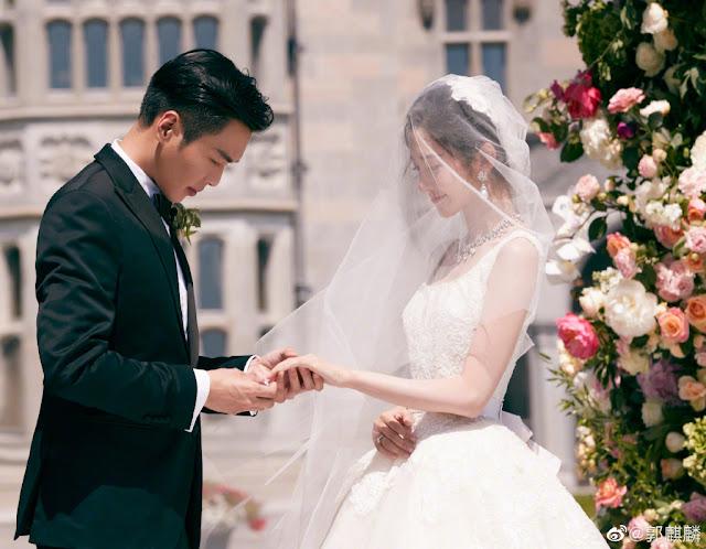 zhang ruoyun tang yixin wedding