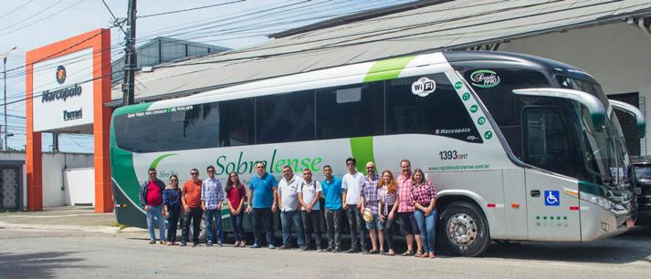 MOB Ceará conhece as instalações da Ferraria JG - Marcopolo