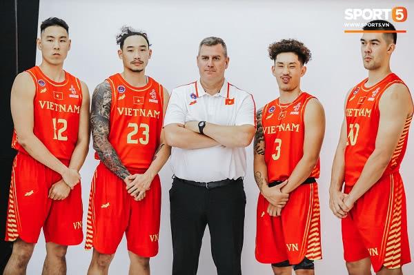 Đồng phục đội tuyển bóng rổ Việt Nam thi đấu SEA Games 30 2