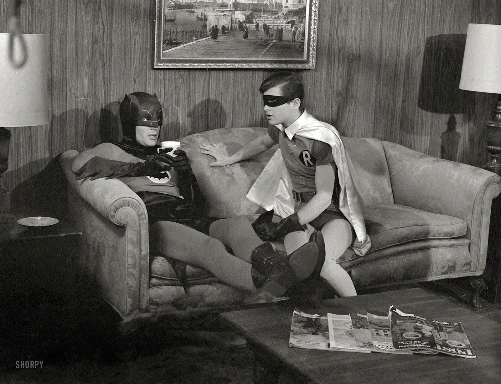 The Dork Review Rob S Room Batman 1966 Behind The Masks
