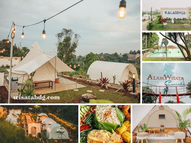 Kalasenja, Family Camping Kekinian di Jalan Kolonel Masturi