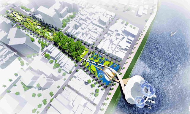 Hình ảnh quảng trường trung tâm Đà Nẵng