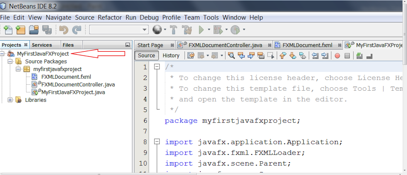 COOL IT HELP: Creating very first JavaFX project in NetBeans 8 0