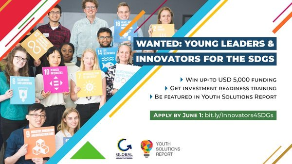 JCI/SDSN Programme 2019 for Young Leaders and Innovators for the SDGs (Deadline: June 1, 2019)