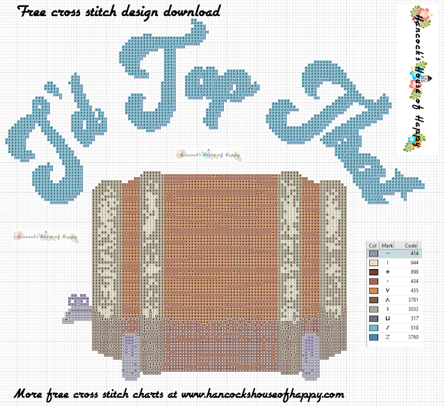 I'd Tap That Funny Free Beer Keg Cross Stitch Pattern to Download