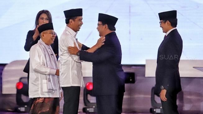 Survei: Prabowo Merosot, Jokowi Naik Pamor di Kalangan Emak-emak