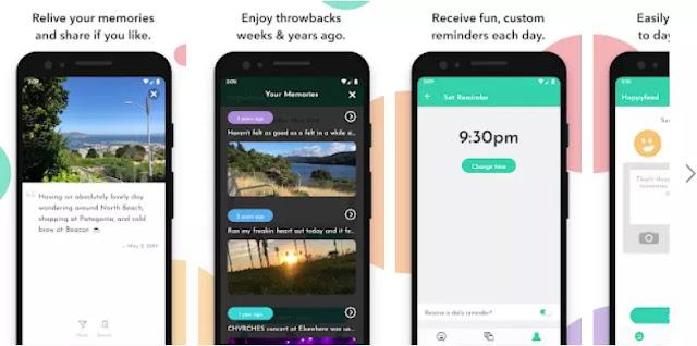 Aplikasi untuk menyimpan momen dengan gambar