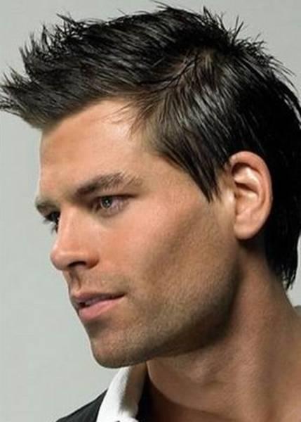 short spiky hairstyles men