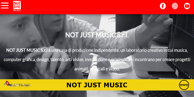 Sito web: NOT JUST MUSIC