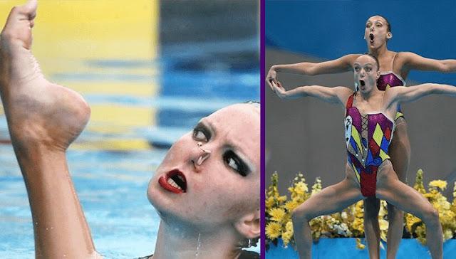 Что будет, если поставить на паузу выступление по синхронному плаванию?