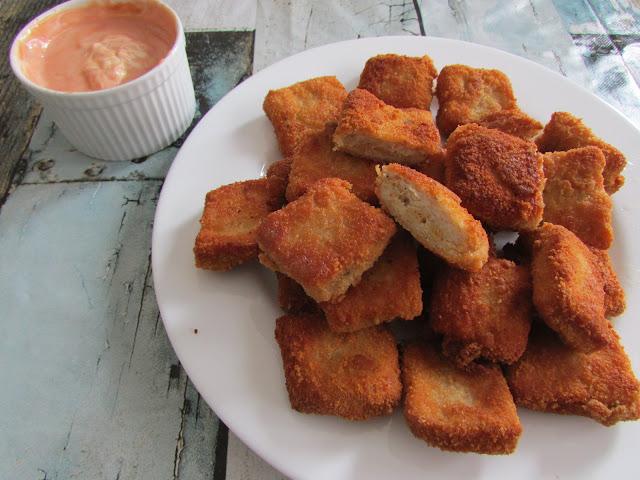 nuggetsy z mięsa mielonego drobiowego