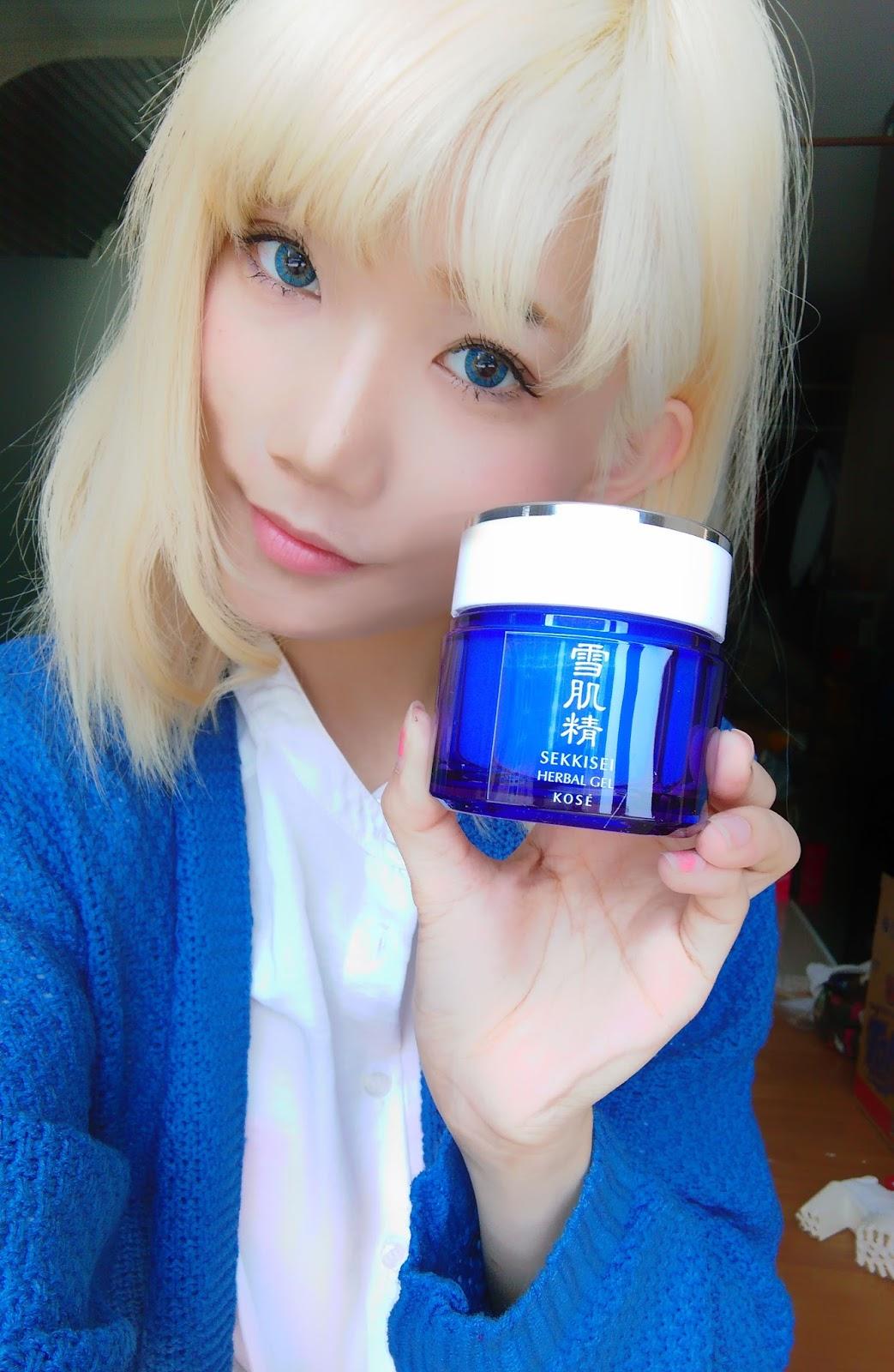 how to use sekkisei herbal gel