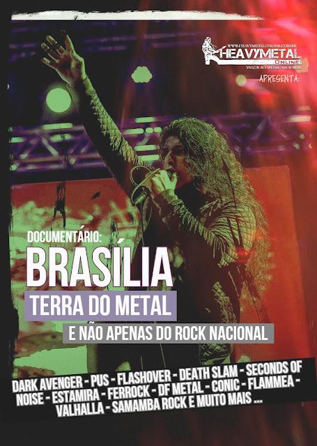 Heavy Metal Online: documentário retrata Heavy Metal de Brasília e homenageia Mário Linhares