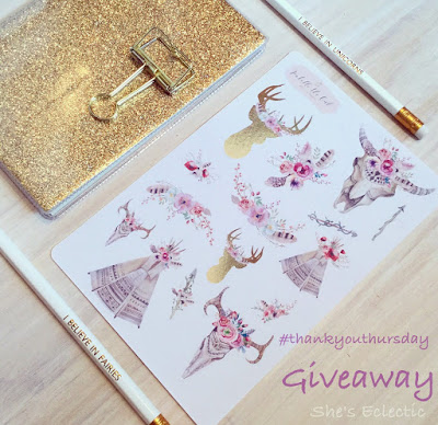 Thank You Thursday - National Stationery Week giveaway!