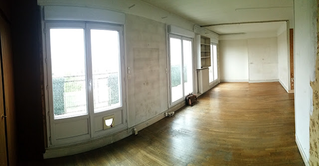 Redistribution appartement