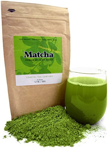 Coastal Tea Company ceremonial matcha green tea powder