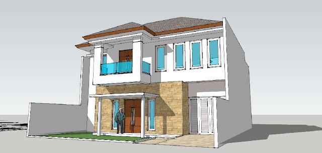 perspektif renovasi rumah tangerang