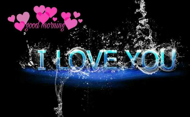 I love you good morning image